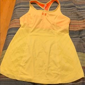 Under Armour tank top with bra Size L